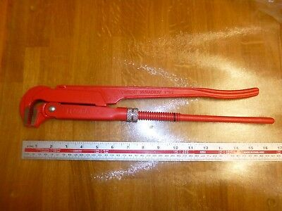 ELORA (Germany)  Swedish Pattern Pipe Wrench 66A-1.1/2 - FREE POSTAGE!!
