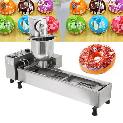 3KW Automatic Donut Machine 3KW Commercial Donut Maker 3 Set free Mold 500pcs/h