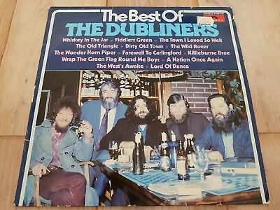 The Dubliners ‎– The Best Of The Dubliners - Polydor ‎2488 421 gewaschen, VG+/EX