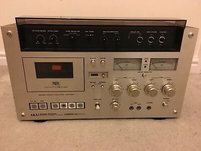 Rare Vintage Akai GXC-570D Stereo Cassette Deck Pre-owned