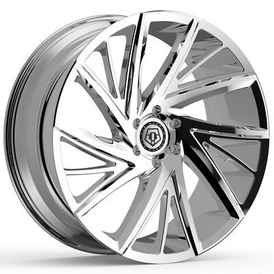 19 Lincoln Mkz Pvd Chrome Wheels Rims Tires Factory Oem Set 4 3954