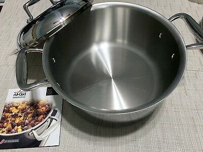 543632c2466f NEW ALL-CLAD D7 Stainless Steel 7-Ply 8 Qt Oven Stock Pot With Dome ...