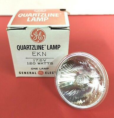 EKN 120W 17.5V Photo Stage Projection LIGHT BULB Studio LAMP NOS NEW