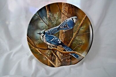 "Knowles ""The Blue Jay"" by Kevin Daniel - Limited Edition Plate"