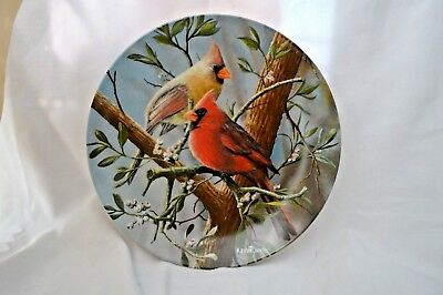 "Knowles ""The Cardinals"" by Kevin Daniel - Limited Edition Plate"