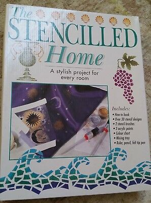 Acetate Stencils, brushes & instructions for entire home. The Stencilled Home
