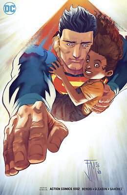 Superman Action Comics #1002 Dc 2018 Manapul Variant Cover Stock Image