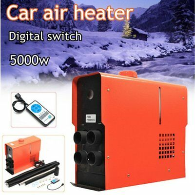 5KW 12V  Air Diesel Heater Digital Switch For Trucks Motor-Homes Boats CampingC@