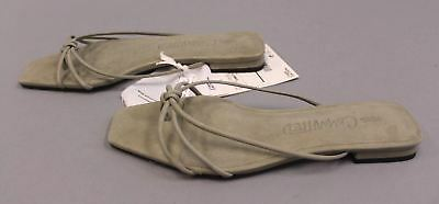 31b83a3dff2d Mango Women s Committed Leather Straps Sandals HD3 Pastel Gray Size UK 4 ...