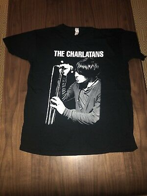 The Charlatans Official Band T Shirt Rare BNWOT Tim Burgess