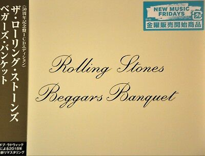 Rolling STONES Beggars Banquet 50th Anniv Ed Orig 2018 JAPAN CD UICY-15792 NEW