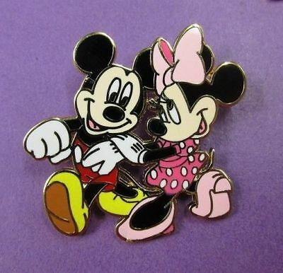 Disney Mickey Mouse and Minnie Mouse Strolling Trading Pin