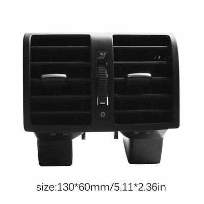 Rear AC Outlet Air Vents Center Assembly Outlet For VW for Touran Accessories C@