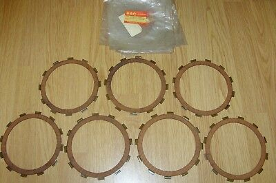 Suzuki GS1100E GS1100ES GS1100S clutch friction plates 21441-49210 x 7 NOS