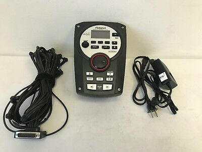 Roland TD-11 Electronic V Drum Module Sound Brain with Power Cord Mount Cable