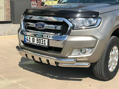 Ford Ranger Spoiler Bar Bull Bar Nudge Grill Guard City Guard 2016 Onwards