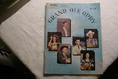WSM's OFFICIAL Grand Ole Opry History Picture Book Vol #1 No.2 plus!