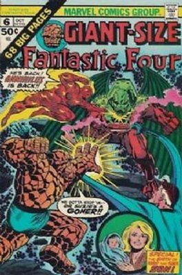 Fantastic Four Giant-Size (Vol 1) #6 ( Vryfn moins ( Vfn Marvel Comics Ame
