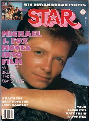 Teen Beat Star Magazine September 1985 Michael J. Fox Tears Fears Wham Menudo