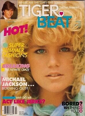 Tiger Beat Magazine July 1984 Michael Jackson John Stamos Tommy Howell Sean Penn