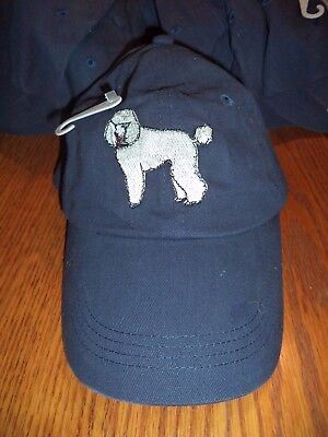 White Poodle Baseball Cap -  By Gr8 Dogs