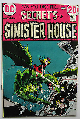 Secrets of Sinister House #7 (DC, 11/72)  FN+ to FN/VF Kaluta Cover! Nice!!