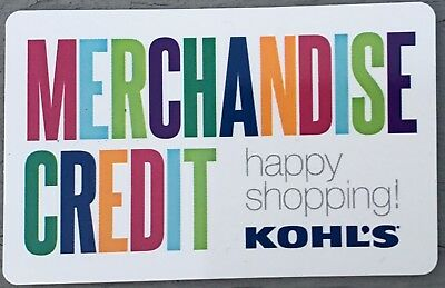 KOHL's GIFT CARD $32.58  No Expiration Free Shipping