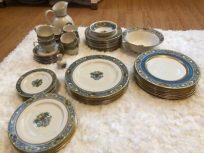 LENOX PRESIDENTIAL COLLECTION 'AUTUMN' 8 place settings plus extras