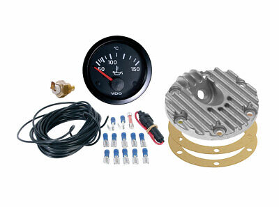 VDO Oil Temperature Gauge Kit (With Sump Sender) 1200-1600cc To 1979