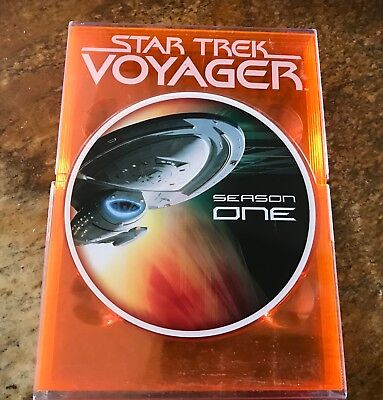 Star Trek: Voyager - The Complete First Season 1 One (DVD, 2004, 5-Disc Set)