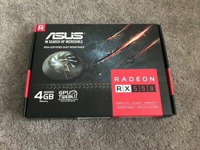 ASUS Radeon RX 550 4G GDDR5 DP HDMI DVI AMD - Graphic Card / GPU