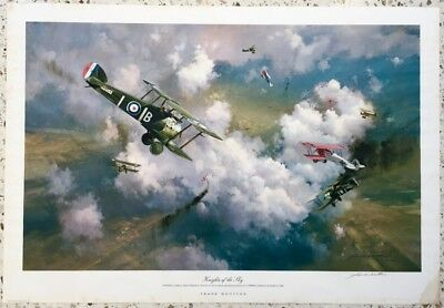 WW1 Aviation Print - Battle of Cambrai by Frank Wootton Artist Print 15/50
