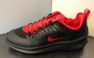 huge selection of 2d6cb fd253 AA2146-003 Nike Air Max Axis Running Shoes Black Red Sizes 8-13
