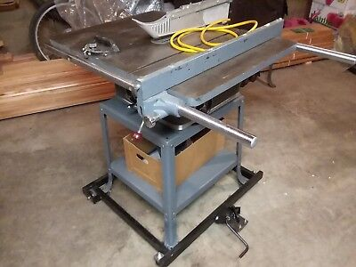 Rockwell International Table Saw Table Design Ideas