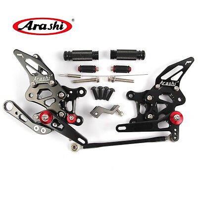 For Aprilia RSV4 2009 2010 2011 2012 Adjustable Footrests Rearsets Footpeg Pedal