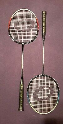 2 x Power Badminton Racket