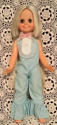 Vintage Ideal Velvet Doll Crissy Family Grow Hair Doll Original Tagged Outfit