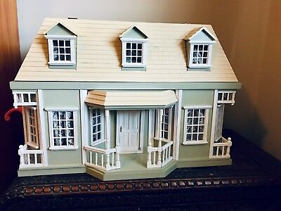 Large Timber Doll House fully furnished
