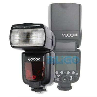 GODOX V860II-S TTL Flash Speedlite 2.4GHz HSS 1/8000s + Li-ion Battery For Sony