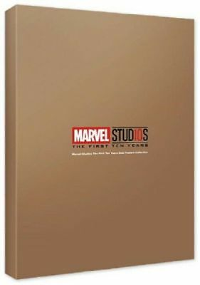 MCU Studios 10th Years Anniversary Gold Posters Collection Marvel Posters_IA