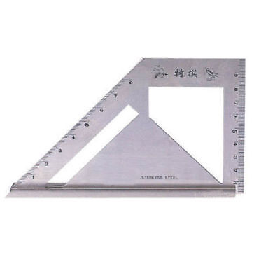 SB Corp MT-4590 Square Meter Angle Protractor Carpenter Tool Stainless_IA