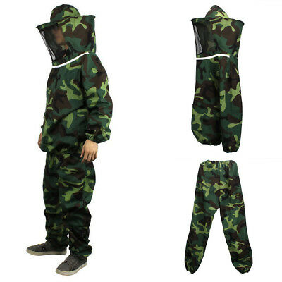 Jacket Beekeeping Suit Veil Dress Protective Round hat Camouflage High quality