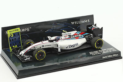 Valtteri Bottas Williams FW38 #77 3 Canada GP formule 1 2016 1:43 Minichamps