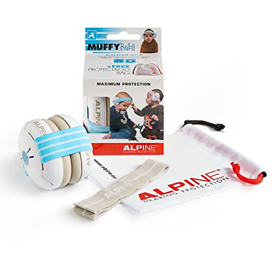 Alpine Muffy Baby Blue - Baby Hearing Protection - Earmuffs