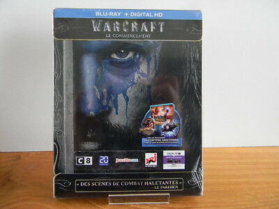 Steelbook WARCRAFT Le commencement Blu-Ray