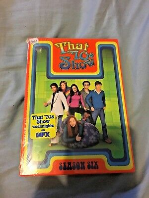 New Factory Sealed That '70s Show The Complete Sixth Season DVD