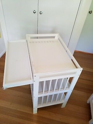 Ikea Change Table - White Timber Frame