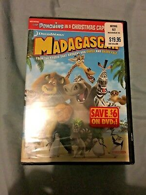 New Factory Sealed Madagascar DVD