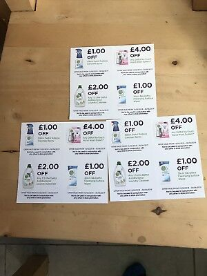 money off coupons vouchers FOR DETTOL PRODUCTS £24