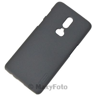 Nillkin New Custodia Originale Frosted Cover Hard Back Case Per Oneplus 6 Black